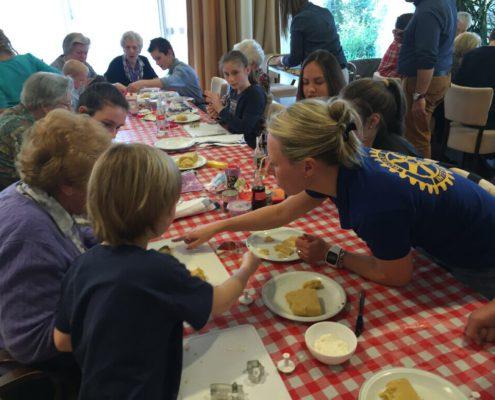 Rotary Lisse Bollenstreek Koekjes bakken